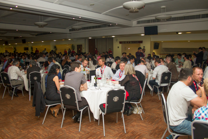 Conference dinner at Old Trafford