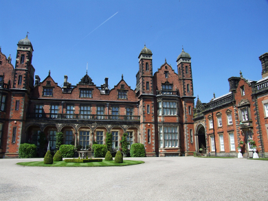 Capesthorne Hall in Cheshire