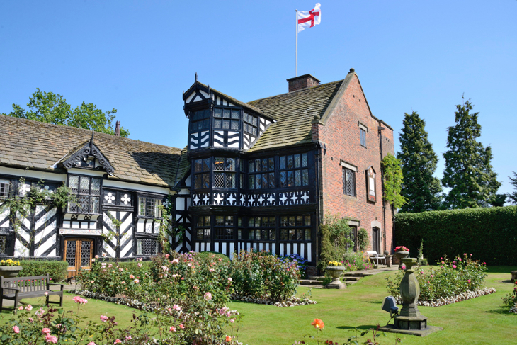 Gawsworth Hall in Cheshire
