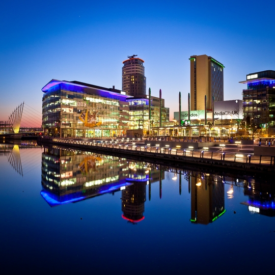 MediaCityUK at Salford Quays