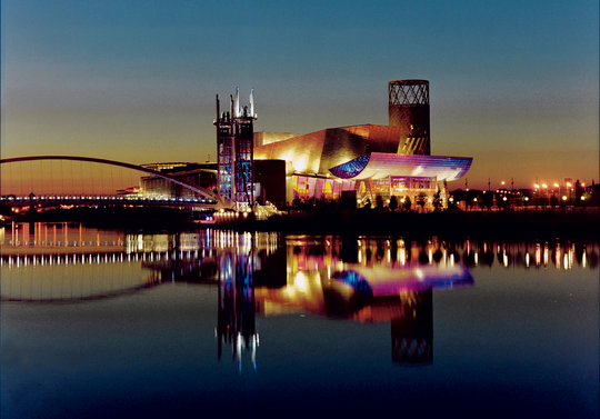 The Lowry, Salford Quays: the Venue for MH2014